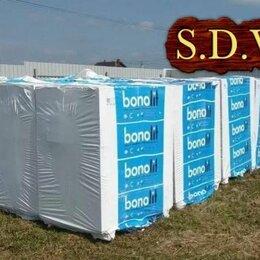 Строительные блоки - Газобетонные блоки Bonolit  600x400x250, плотность D400, 0