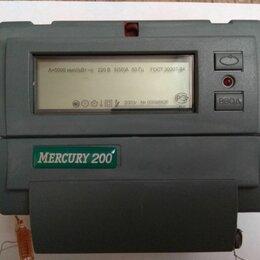 Счётчики электроэнергии - Счетчик электроэнергии меркурий 200, 0
