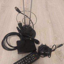 TV-тюнеры - Эфирная цифровая приставка DVB-T2 , 0