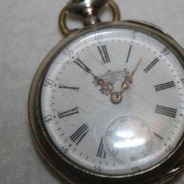 Карманные часы - часы брегет  серебрянные старинные, 0