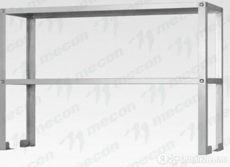 "Полка-надстройка настольная ПННн - 1500*400*400 ""Norma Inox"", нерж.... по цене 7561₽ - Кровати, фото 0"