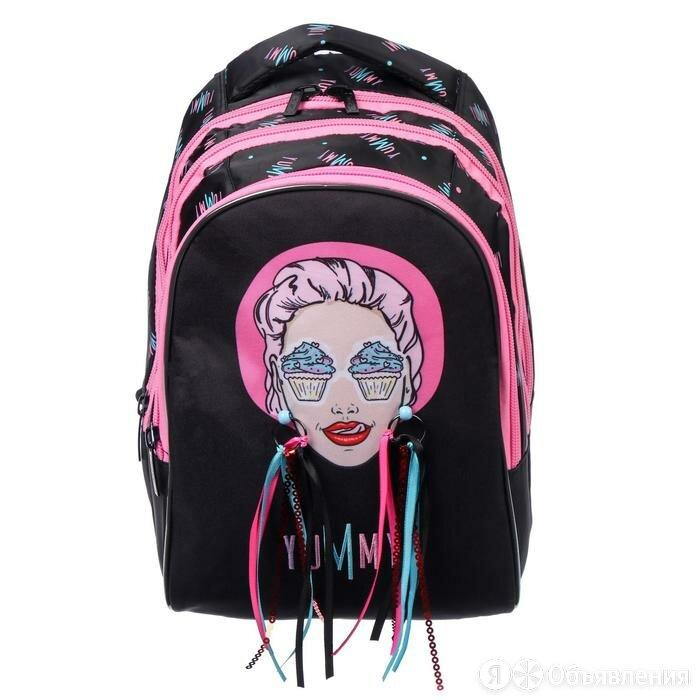 Рюкзак школьный, Hatber, Sreet, 41 х 28 х 21 см, эргономичная спинка, с сумко... по цене 4029₽ - Рюкзаки, ранцы, сумки, фото 0