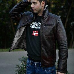 Продавцы и кассиры - Куртка мужская кожаная зима, 0