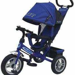 Трехколесные велосипеды - Трехколесный велосипед moby kids comfort-maxi 968sl12/10blue, 0