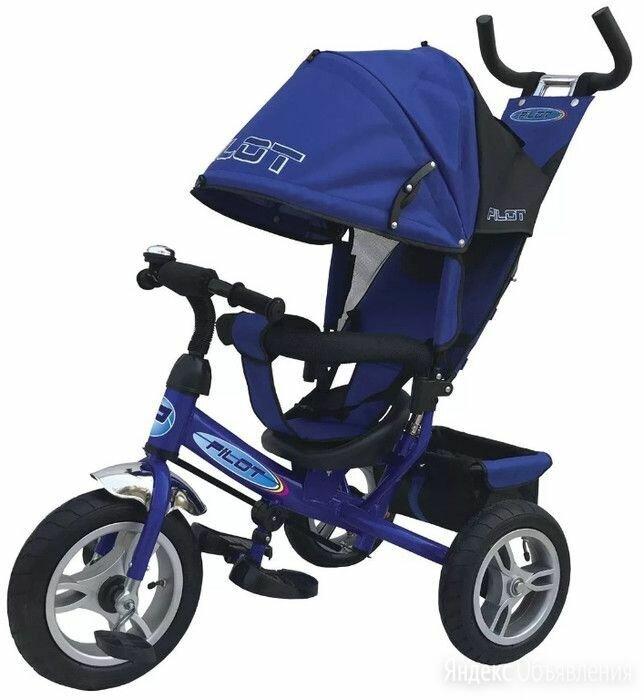 Трехколесный велосипед moby kids comfort-maxi 968sl12/10blue по цене 2500₽ - Трехколесные велосипеды, фото 0