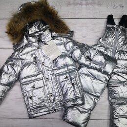 Комплекты верхней одежды - Зимний комбинезон mоncler для девочек и мальчиков 5 расцветок, 0