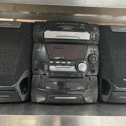 Музыкальные центры,  магнитофоны, магнитолы - Музыкальный центр Panasonic SA-AK15 б/у , 0