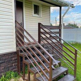 Лестницы и элементы лестниц - Летница к дому со ступеньками., 0