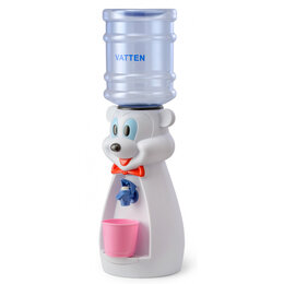 Кулеры для воды и питьевые фонтанчики - Кулер VATTEN kids Mouse White, 0
