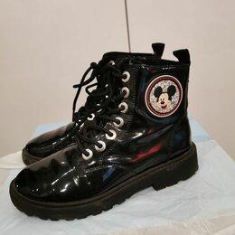 Ботинки - Ботинки для девочки демисезонные ZARA р. 34 лакированные  , 0