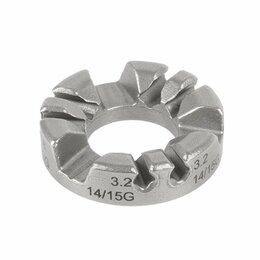 Рожковые, накидные, комбинированные ключи - Ключ спицевой cnSPOKE ПРОФИ, 3,2/3,4/3,6/3.9мм, сталь, индивидуальная упаковка, 0
