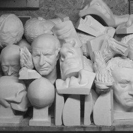 Статуэтки и фигурки - Гипсовые головы фигуры бюсты колонны капители, 0