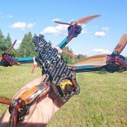 Квадрокоптеры - Гоночный FPV квадрокоптер Mark4 с камерой, 0