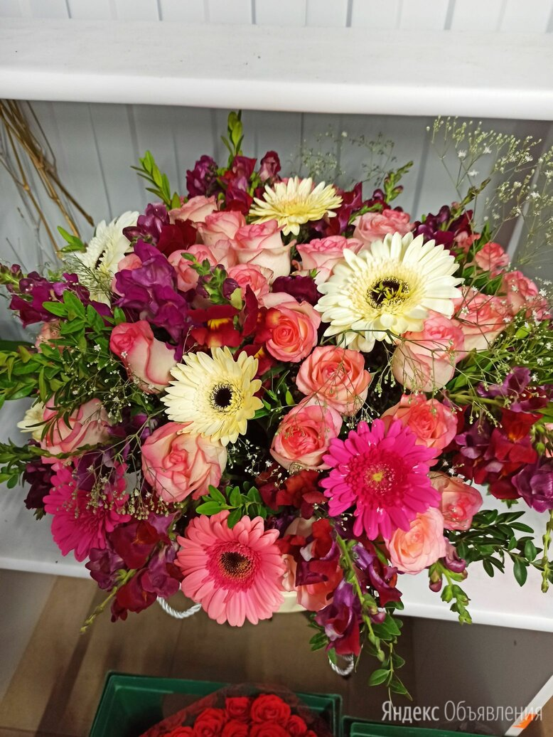Букет цветов по цене 100₽ - Цветы, букеты, композиции, фото 0