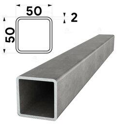 Металлопрокат - Труба профильная 50х50мм стенка 2мм длина 6 метров, 0