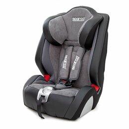 Автокресла - Детское кресло «Sparco»,  группы 1/2/3 (9-36 кг/9 мес-12 лет), экокожа + алькант, 0