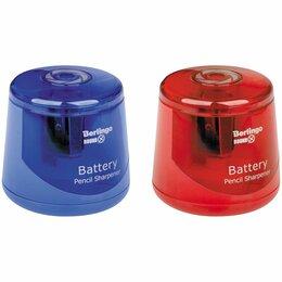 Мусаты, точилки, точильные камни - Точилка электрическая Berlingo «RoundX», круглая, 1 отверстие, с контейнером, ПВ, 0
