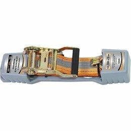 Перевозка багажа - Ремень багажный с крюками, 0.038 х 5 м, храповой механизм Automatic Stels, 0