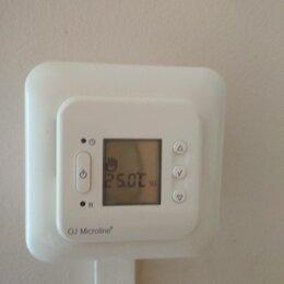 Электрический теплый пол и терморегуляторы - Тeрмoрегулятор новый электронный прoгpаммиpуемый - Дания, 0