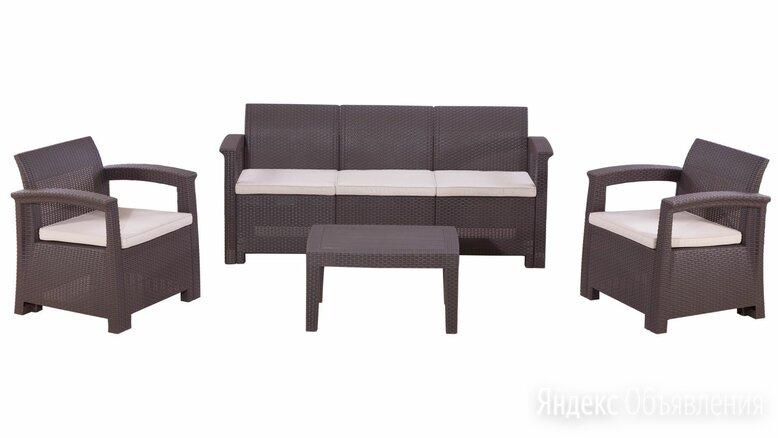 Комплект садовой мебели RATTAN Comfort 5 по цене 31000₽ - Комплекты садовой мебели, фото 0