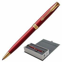 Канцелярские принадлежности - Ручка шариковая PARKER «Sonnet Core Intense Red Lacquer GT», корпус красный глян, 0