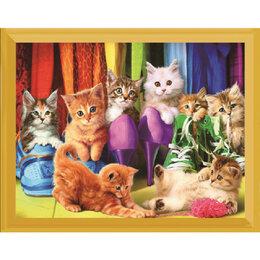 Рукоделие, поделки и сопутствующие товары - Котята в обуви Артикул : L 596, 0