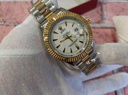 Наручные часы - Rolex datejust золотые с белым циферблатом, 0