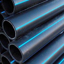 Водопроводные трубы и фитинги - Напорная труба для питьевой воды ПНД d355мм ПЭ100, 0