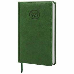 Бумажная продукция - Ежедневник А5  2022г. Brauberg  Favorite  Зеленый, 138*213мм (16), 0