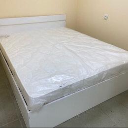 """Кровати - Кровать белая двухспальная """"Ненси"""" доставка , 0"""