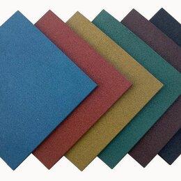 Садовые дорожки и покрытия - Резиновая плитка - квадрат для площадок, 0