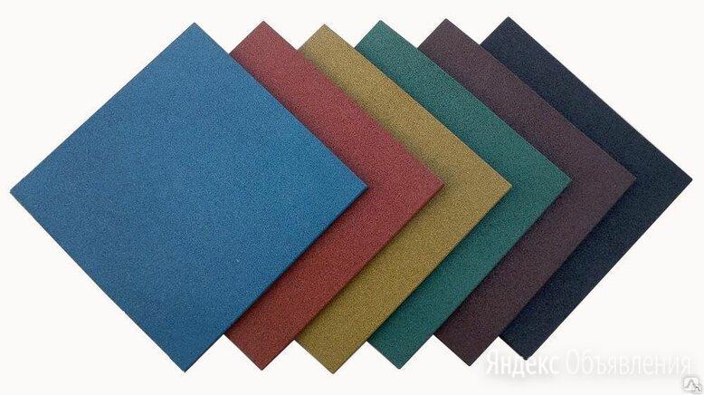 Резиновая плитка - квадрат для площадок по цене 300₽ - Садовые дорожки и покрытия, фото 0
