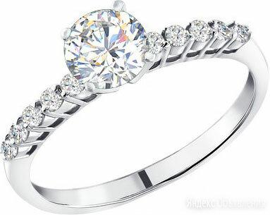 Помолвочное кольцо SOKOLOV 94010157_s_18-5 по цене 950₽ - Кольца и перстни, фото 0