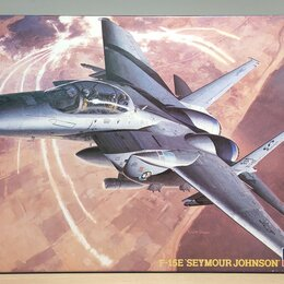 Сборные модели - F-15E 'Seymour Johnson' 1/72 Hasegawa 04201, 0