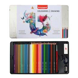 Письменные и чертежные принадлежности - Карандаши цветные Bruynzeel, 70 предметов для рисования, 0