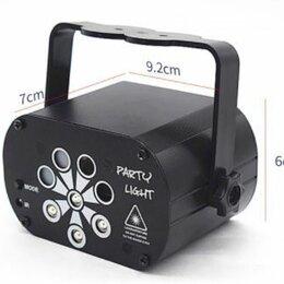 Световое и сценическое оборудование - Светодиодный сценический лазерный проектор с пультом(USB), 0