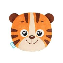 Мягкие игрушки - Мягкая игрушка-грелка 'Тигр Бой', с вишневыми косточками, 27 см, 0