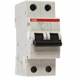 Концевые, позиционные и шарнирные выключатели - Автоматический выключатель 2-пол. SH202L C50 (50А), 0
