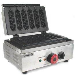 Сэндвичницы и приборы для выпечки - Вафельница Корн-дог EB-Q1 Foodatlas Eco, 0