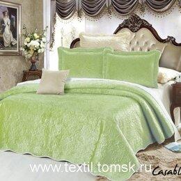 Пледы и покрывала - Велюровое покрывало Танго коллекция Касабланка, полутораспальное., 0