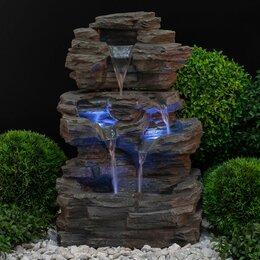 Декоративные фонтаны - Фонтан садовый green Apple Водопад, 0