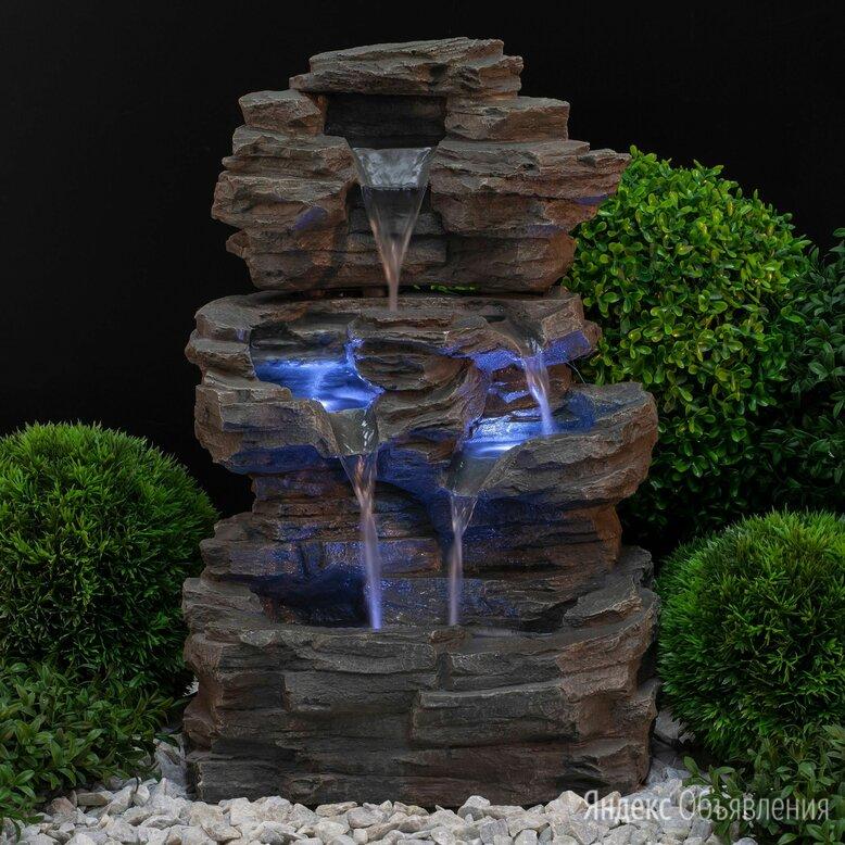 Фонтан садовый green Apple Водопад по цене 9500₽ - Декоративные фонтаны, фото 0