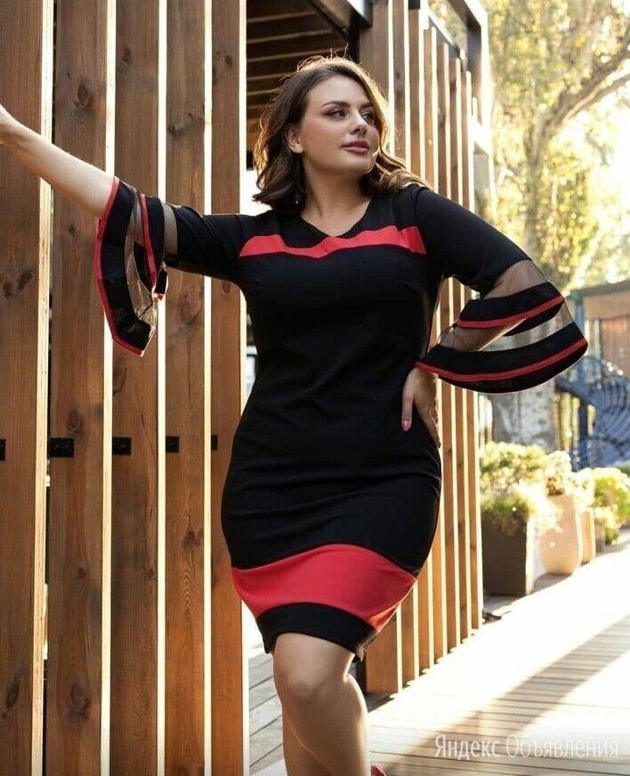 Нарядное коктейльное платье р-ры 50-60 по цене 1490₽ - Платья, фото 0