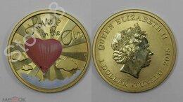 Монеты - Тувалу, 1 доллар, 2015 г.Любовь витает в воздухе.., 0
