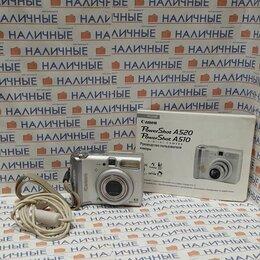 Фотоаппараты - Фотоаппарат canon powershot A520, 0