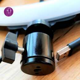 Камеры - Кольцевая лампа 26см, 0