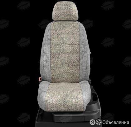 Чехлы на сидения Hyundai Solaris 2010 2017 Шато-блеск-серый (арт.HY15-0605-LE... по цене 7430₽ - Аксессуары для салона, фото 0