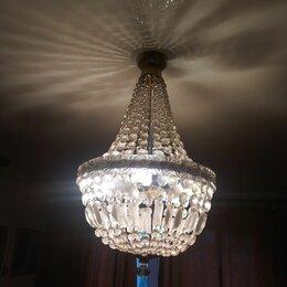 Люстры и потолочные светильники - Люстра хрустальная груша чехия, 0