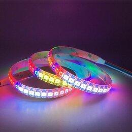 Светодиодные ленты - ws2815 rgb, 60-Led, 12 В  SPI адресная светодиодная лента , 0