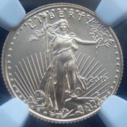 Монеты - 5 долларов 2010 США золото NGC- MS 70 , 0